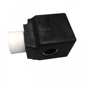 Sahamoottorin käyttöventtiilin solenoidi, käytössä mm. John Deere hakkuupäissä