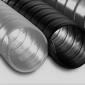 Letkun suojaspiraali 110-1500mm, musta